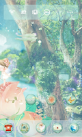 Screenshot of 장미요정 도돌런처 테마