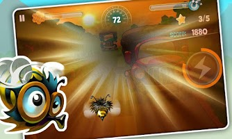 Screenshot of Bumblebee Race Free