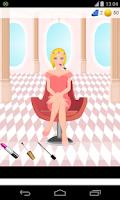 Screenshot of princess salon games