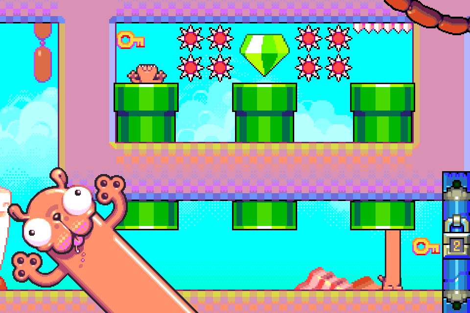 Silly Sausage in Meat Land Screenshot 0