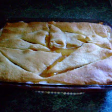 Peach Cobbler With Cream Cheese