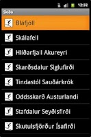 Screenshot of Skíðó