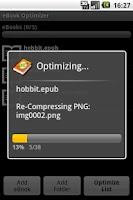 Screenshot of eBook Optimizer Free