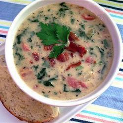 Italian Sausage, Kale And Potato Soup