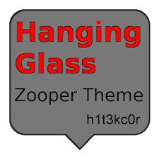 Hanging Glass Zooper Theme