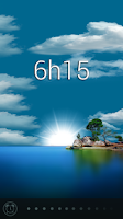 Screenshot of Glimmer (luminous alarm clock)
