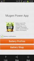 Screenshot of Mugen Power App