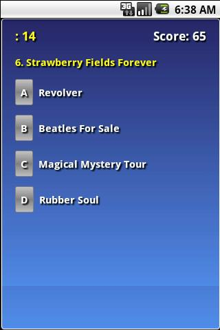 beatles-album-trivia for android screenshot