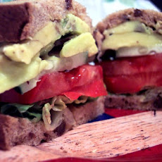 Tomato, Cucumber, & Avocado Sandwich