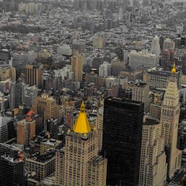 New York City by Jeanne Knoch - City,  Street & Park  Vistas (  )