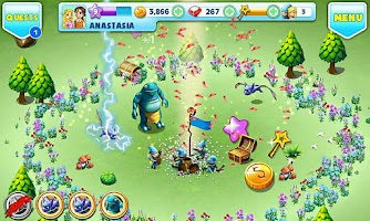 Screenshot of Fantasy Town