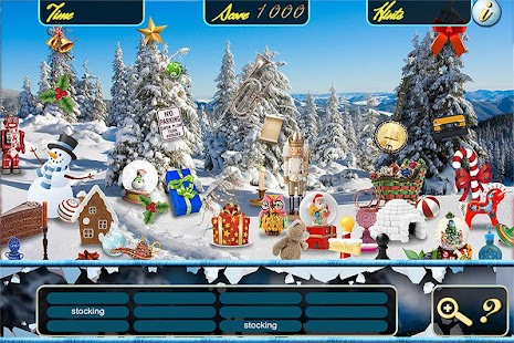 Hidden Objects Christmas Snow - screenshot