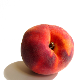 Peach by Jane Spencer - Food & Drink Fruits & Vegetables ( fruit, stone seed, ripe, peach, summer, deliclious )