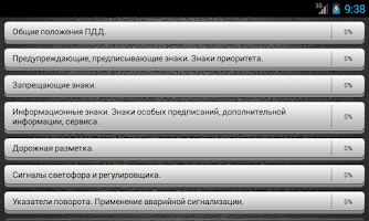 Screenshot of Экзамен ПДД 2015 ABCD Россия