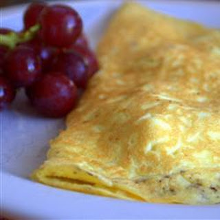 Turkey Filled Omelette