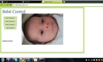 Screenshot of Bebe' Control A/V Baby Monitor