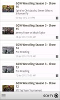 Screenshot of GCW Pro