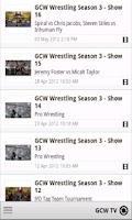 Screenshot of GCW Pro