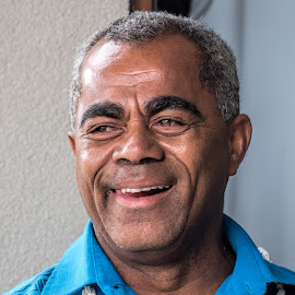 Happy islander by Vibeke Friis - People Portraits of Men ( smiling, man,  )