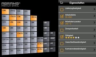 Screenshot of ABRAMS STEEL GUIDE