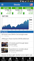 Screenshot of Barchart Stocks Futures Forex