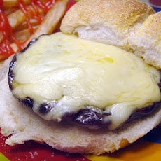 Garlic and Mushroom Burgers