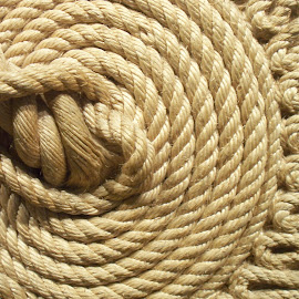 rope by Samy Ayoub - Abstract Patterns ( abstract, circular, point of view, rope, glued )