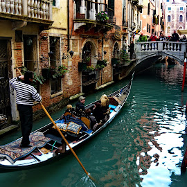 Venice,Italy by Jerko Čačić - City,  Street & Park  Historic Districts