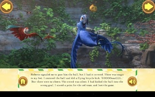 Screenshot of RIO 2 Sky Soccer!