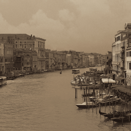 Venezia - Canale grande by Dominic Jacob - City,  Street & Park  Historic Districts ( venezia, grande, canale, italia, grand, grand canal, venice, italie, venise, italy, canal )