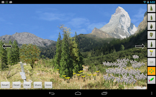 Screenshot of Mountains Live Wallpaper