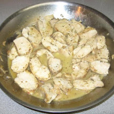 Chicken Medallions in White Wine Reduction