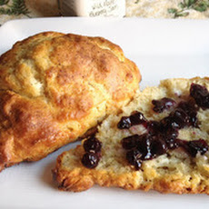 Peppered Goat Cheese Scones