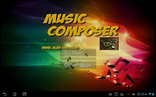 Screenshot of Music Composer
