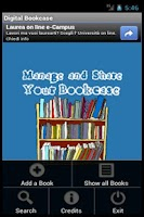 Screenshot of Digital Bookcase