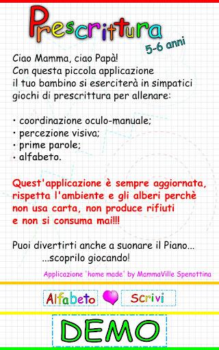【免費教育App】Pre Scrittura PARLANTE! DEMO-APP點子