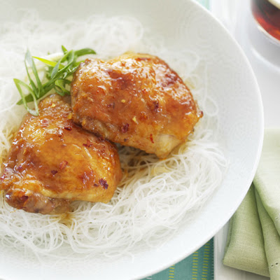 Asian-Glazed Chicken Thighs