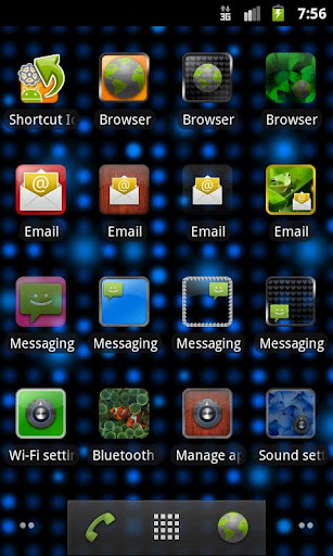 Shortcut Icons