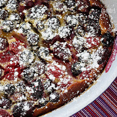 Flaugnarde of Mixed Berries (Clafoutis)