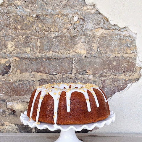 Beautiful Banana Bundt Cake