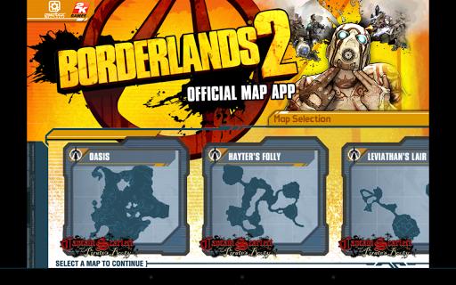 Borderlands 2 GotY Map App - screenshot