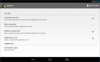 Screenshot of SambaDroid