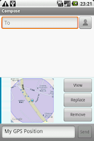 Screenshot of GPS to MMS Free