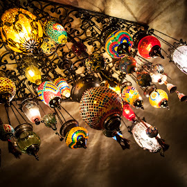 Turkish lights by Lucian Pirvu - Artistic Objects Glass ( hanging, lights, candle light, hang, turkish,  )