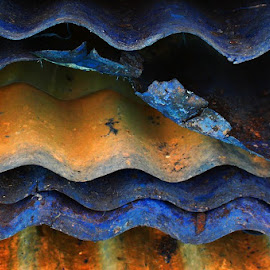 Rusty Sheets by Leigh Martin - Artistic Objects Other Objects ( rust iron sheets )