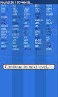Screenshot of Word Run