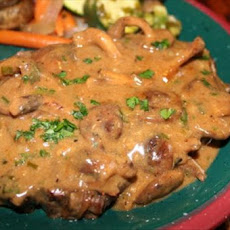 Sirloin Steaks With Creamy Sauce
