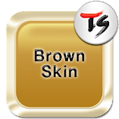 Brown Skin for TS Keyboard APK for iPhone