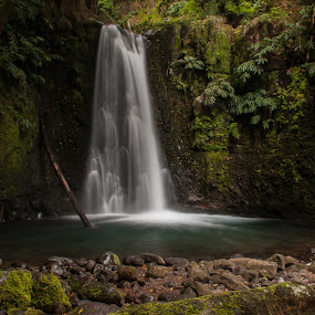A magical place by Rui Medeiros - Landscapes Waterscapes ( water, nature, waterfall, landscape,  )