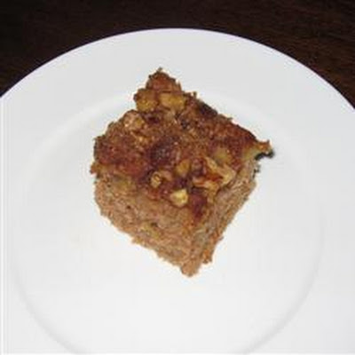 Mom's Prize Winning Raw Apple Cake